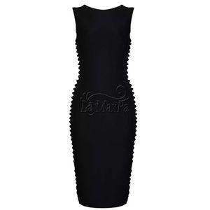 New Luxury Professional Bandage Black Dress